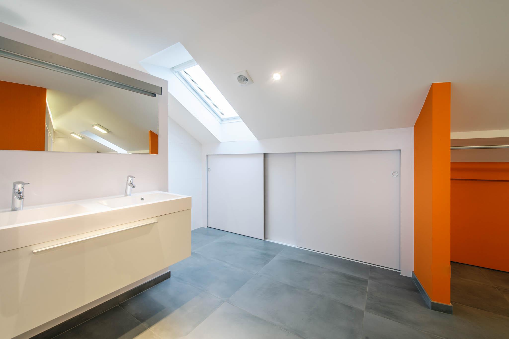 Salle-de-bain - mobilier sur mesure