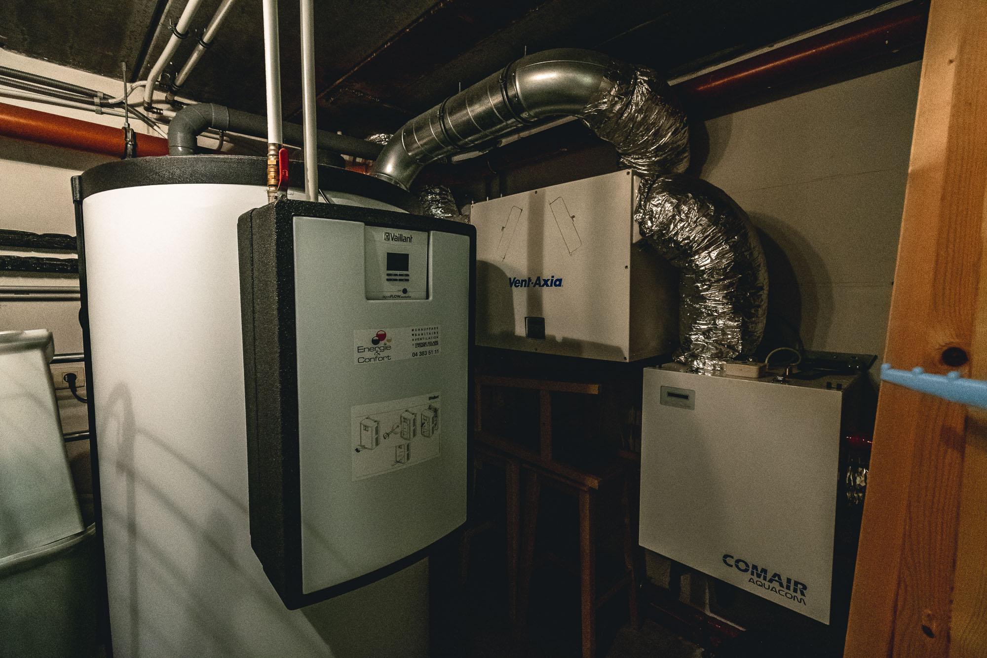 Pompe à chaleur et Ventilation mécanique controlée double flux
